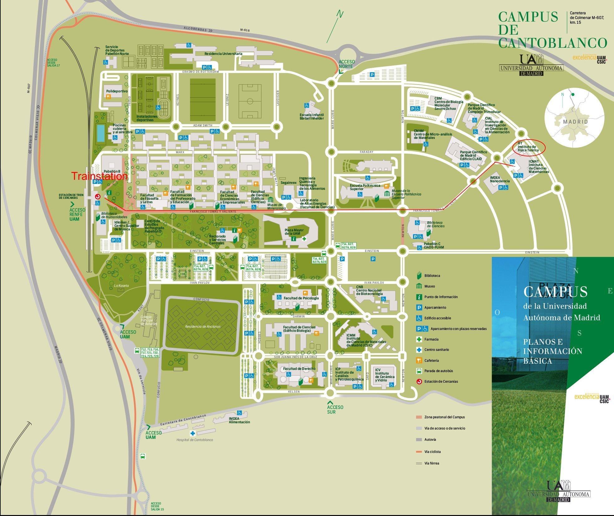 Mapa plano IFT